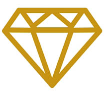 diamond art_gold
